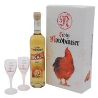 Vorschau: Ingwerlikör & Likör-Gläser Geschenkset