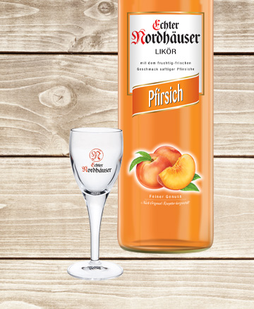 Pfirsich & Fruchtige-Gläser Geschenkset